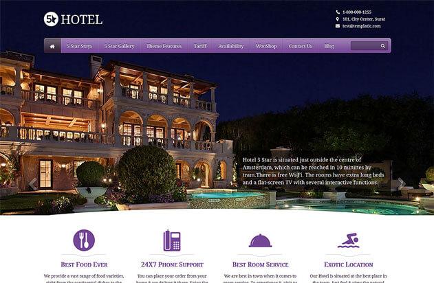 5 Star Hotel Theme