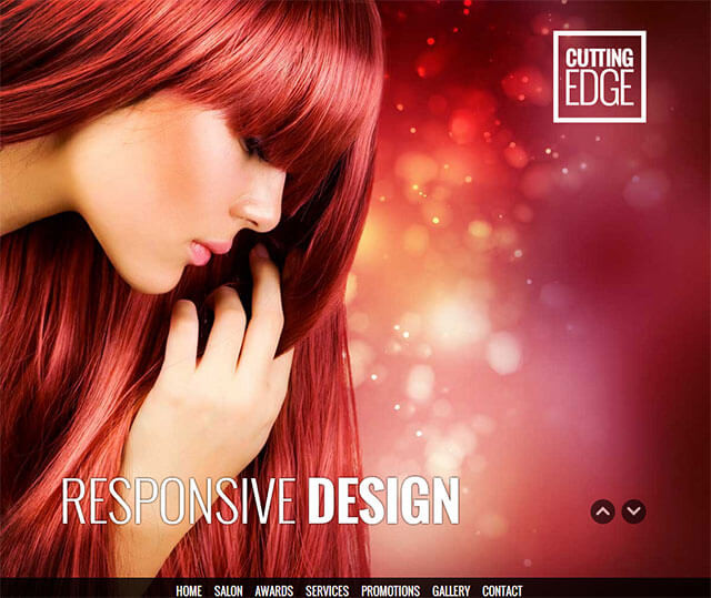 24 best spa beauty salon wordpress themes 2018 for A cutting edge salon