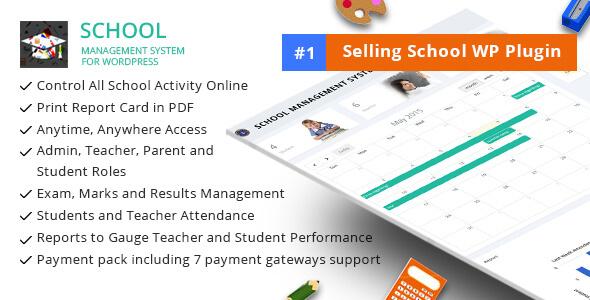 Technology Management Image: 6 Best School Management Plugins For WordPress 2019 (Compared