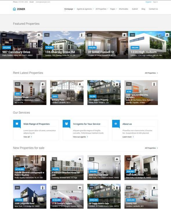 14 Best Real Estate WordPress Themes for Realtors 2019