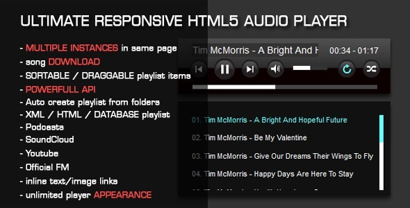 Top 10 Best HTML5 Audio Player Plugins for WordPress 2019