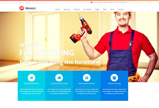 4 best moving company wordpress themes of 2019