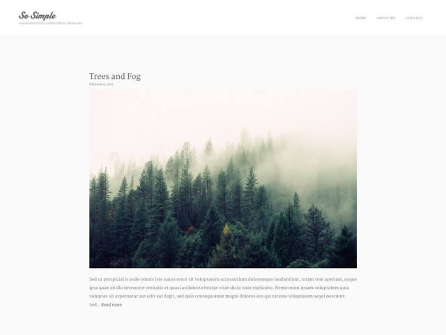 FormatFactoryFree Minimalist WordPress Themes 1