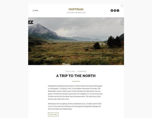 FormatFactoryFree Minimalist WordPress Themes 2