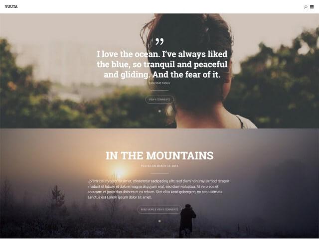 FormatFactoryFree Minimalist WordPress Themes 5
