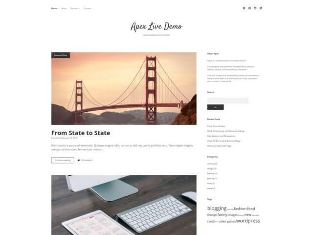 FormatFactoryFree Minimalist WordPress Themes 9