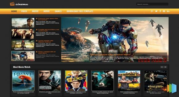 8 best video and movie blogger templates 2019