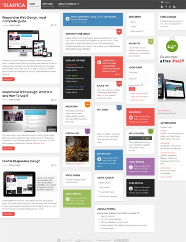 10 Premium Style Free Joomla Templates 2019