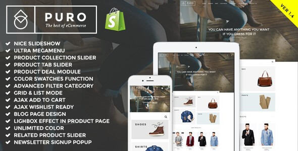 The 14 best shopify themes with beautiful ecommerce designs 2018 best shopify blog templates 10 pronofoot35fo Image collections