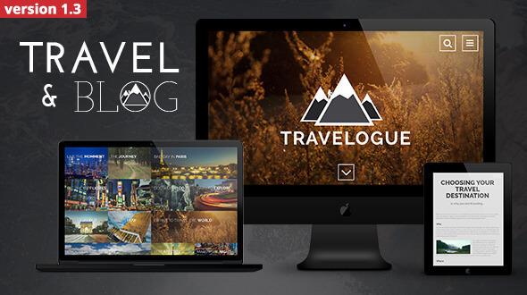 10 Best Responsive Travel Blogger Templates 2019