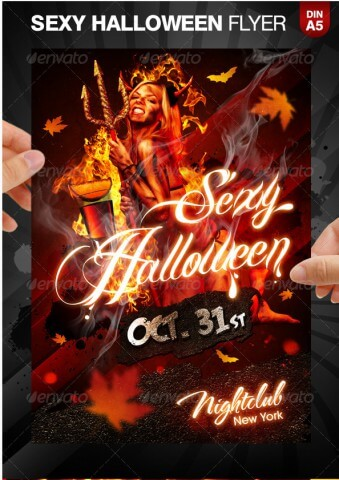halloween flyer background template - Yelom.myphonecompany.co