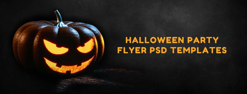 12 best halloween party flyer psd templates 2019