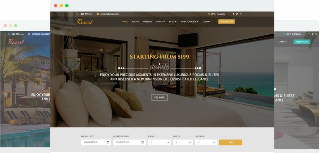 15 best responsive travel and hotel joomla templates 2018 for Joomla hotel template