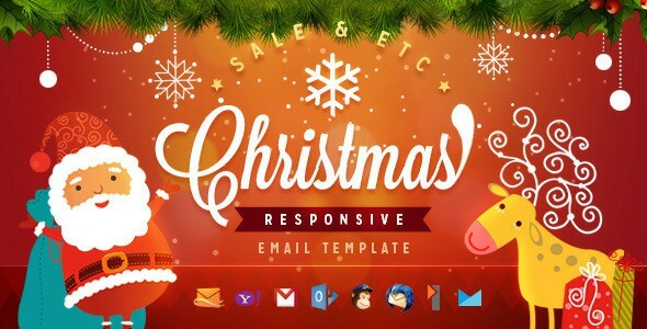 Best 16 Christmas Email Newsletter Templates 2019 (with ...