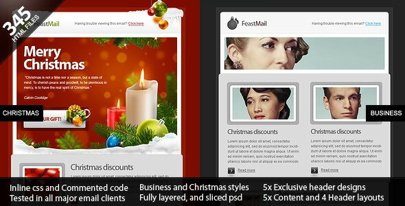 Top 16 Christmas Email Newsletter Templates 2019 With Examples