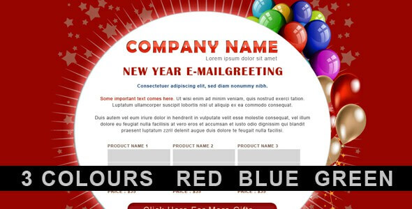 Top 16 Best New Year Email Newsletter Templates 2019 Fresh Picks