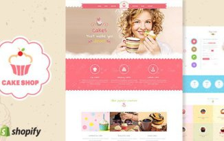 Top 12 Best Shopify Themes 2017: Make Bakery & Coffee Shop