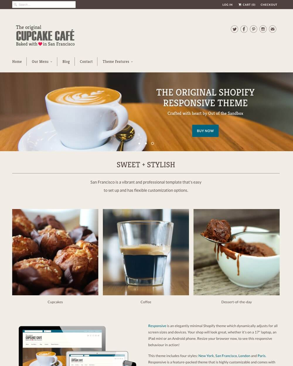 12 Best Responsive Shopify Themes for Bakery & Coffee Shop