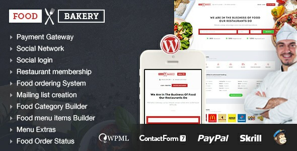 9 Best Food Delivery Service Wordpress Themes Amp Templates 2019