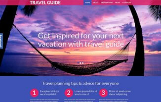 12 Best Summer Traveling Website Templates You Need to Succeed 2017