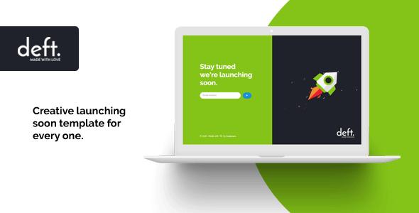18 Best Coming Soon HTML5 Website Templates 2019