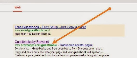 Add A GuestBook To Blogspot Sites Step By