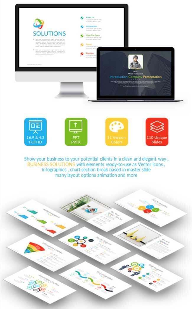 business solutions powerpoint templates