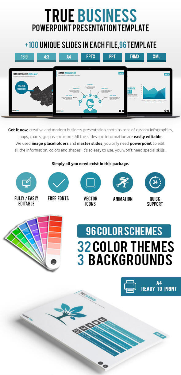 20 elegant powerpoint templates for creative presentations 2017, Presentation templates