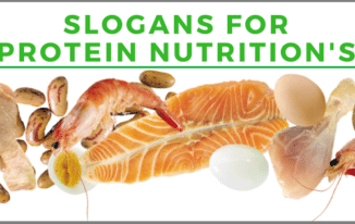 15 Most Catchy Slogans for Protein Nutrition's 2017